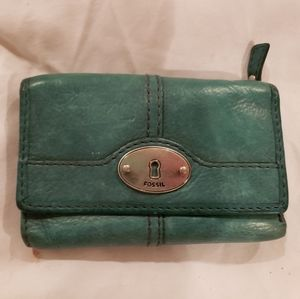 Fossil trifled wallet
